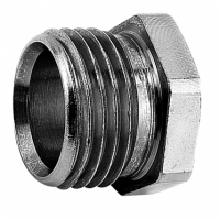 danfoss - Danfoss Klemnippel 1/2 Chroom exclusief Ring